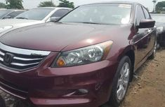 Foreign Used Honda Accord 2009 Model Red