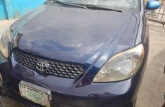 Nigeria Used Toyota Matrix 2003 Model Blue