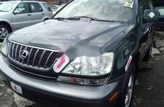 Foreign Used Lexus RX 2003 Model Black