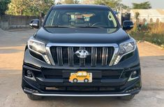 Nigeria Used Toyota Land Cruiser Prado 2017 Model Black