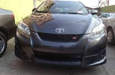 Foreign Used Toyota Matrix 2009 Model Gray
