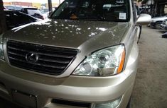 Foreign Used Lexus GX 2006 Model Gold