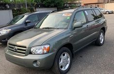 Clean Foreign used Toyota Highlander 2006