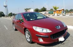 Nigeria Used Peugeot 407 2004 Model Red