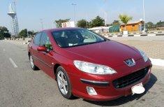 Nigeria Used Peugeot 407 2004 Model Red