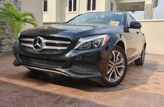 Foreign Used Mercedes-Benz C300 2017 Model Black