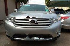 Super Clean Tokunbo Toyota Highlander 2012