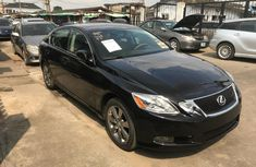 Foreign Used Lexus GS 2010 Model Black