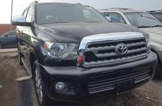 Foreign Used Toyota Sequoia 2015 Model Black