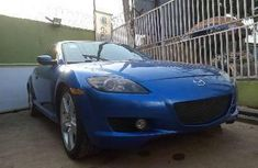 Nigeria Used Mazda RX-8 2007 Model Blue