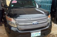Nigeria Used Ford Explorer 2012 Model Black