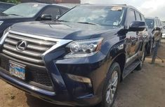 Foreign Used Lexus GX 2017 Model Blue