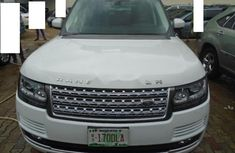 Tokunbo Land Rover Range Rover Vogue 2014 Model White