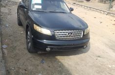 Nigeria Used Infiniti FX45 2005 Model Black