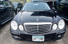 Super Clean Tokunbo Mercedes-Benz E350 2009