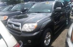 Foreign Used Toyota 4-Runner 2008 Model Black