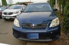 Nigeria Used Toyota Matrix 2007 Model Blue