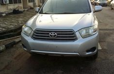 Foreign Used Toyota Highlander 2008 Model Silver