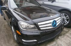 Tokunbo Mercedes-Benz C250 2012 Model Black