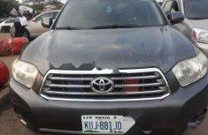 Nigeria Used Toyota Highlander 2008 Model Gray