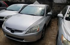 Foreign Used Honda Accord 2004 Model Silver
