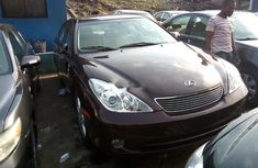Foreign Used Lexus ES 2006 Model Red