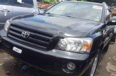 Foreign Used Toyota Highlander 2005 Model Black
