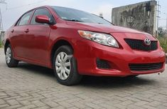 Foreign Used Toyota Corolla 2009 Model Red