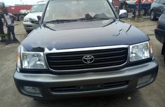 Foreign Used Toyota Land Cruiser 2004 Model Blue