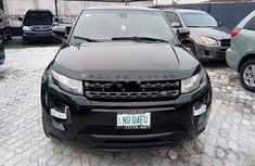 Nigeria Used Land Rover Range Rover Evoque 2013 Model Black