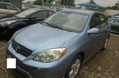 Nigeria Used Toyota Matrix 2007 Model Blue
