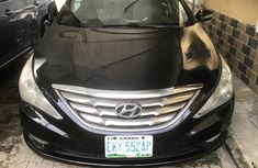 Nigeria Used Hyundai Sonata 2012 Model Black