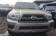 Foreign Used Toyota 4-Runner 2008 Model Gold