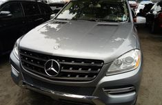 Foreign Used Mercedes-Benz ML350 2014 Model Silver