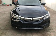 Foreign Used Honda Accord 2016 Model Black