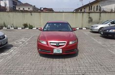 Nigeria Used Acura TL 2007 Model Red