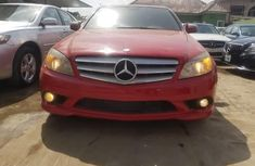 Nigeria Used Mercedes-Benz C300 2009 Model Red