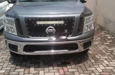 Foreign Used Nissan Titan 2017 Model Gray