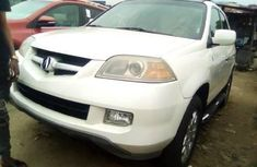 Foreign Used Acura MDX 2006 Model White