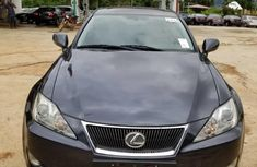 Foreign Used Lexus IS 2005 Model Black