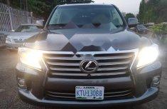 Nigeria Used Lexus LX 2013 Model Gray