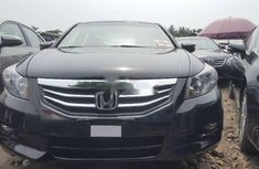 Foreign Used Honda Accord 2009 Model Black