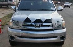 Foreign Used Toyota Tundra 2006 Model Silver