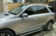Nigeria Used Mercedes-Benz ML350 2013 Model Silver