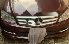 Nigeria Used Mercedes-Benz E350 2009 Model Red