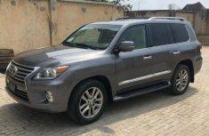 Nigeria Used Lexus 570 2014 Model Gray