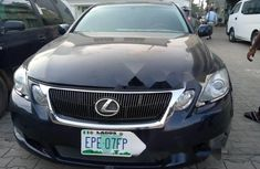 Nigeria Used Lexus GS 2008 Model Blue
