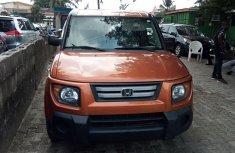 Foreign Used Honda Element 2008 Model Orange