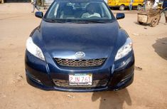 Foreign Used Toyota Matrix 2009 Model Blue
