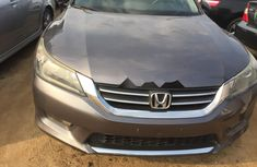 Foreign Used Honda Accord 2016 Model Silver